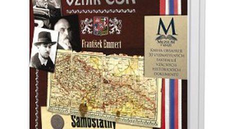 """Unikátní kniha """"1918: Vznik ČSR"""" s 30 kopiemi historických dokumentů! Seznamte se krok za krokem s nelehkým utvářením nového státu"""
