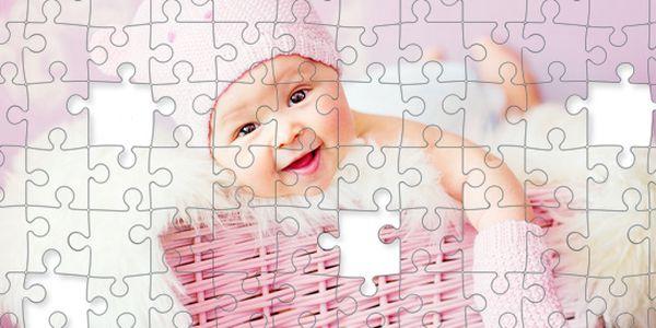 Velké foto puzzle s fotkou nebo motivem dle přání