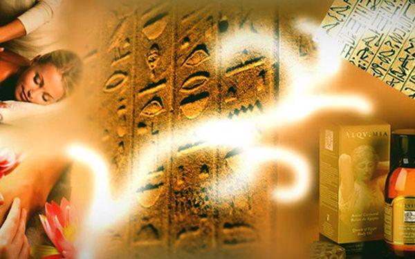 Rituál královny Kleopatry - egyptské masáže s exotickými vůněmi!