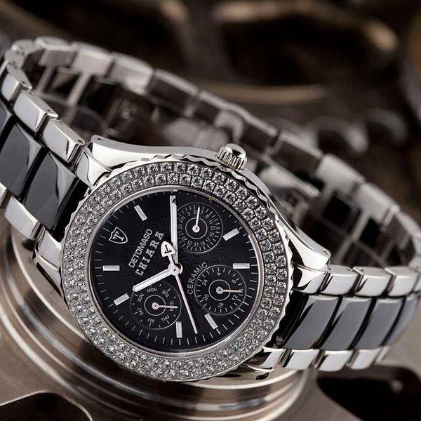Dámské hodinky Detomaso Chiara stříbrné