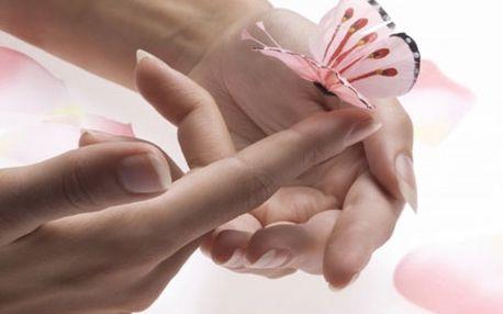 Profesionální manikúra, P-shine, parafínový zábal a závěrečný krém. Wellness péče pro krásu Vašich rukou.