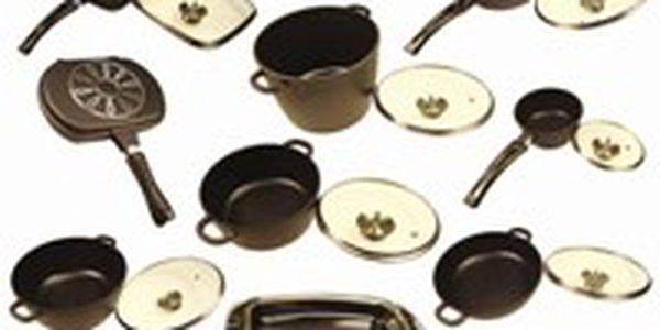 Titanové nádobí - sada 17ks! Cenová bomba!