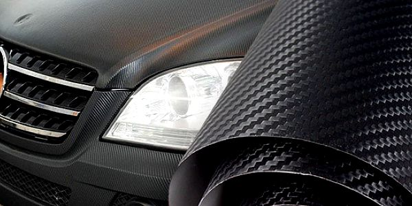 Černá karbonová folie 3D nejen pro vaše auto