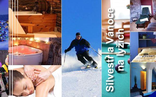 Vánoční nebo Silvestrovský s polopenzí na 6 dnípro jednu osobu s wellness programemv Krkonoších v Pensionu Esprit! Bohatá štědrovečerní večeře nebo silvestrovský raut s Novoročním přípitkem!