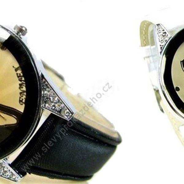 Luxusní hodinky ENMEX PURE LOOK SE SWAROVSKI ELEMENTS KRYSTALYpro každou ženu. Hodinky ve třech barevných variantách za skvělou cenu se slevou 61%!!! Skvělý tip na vánoční dárek!