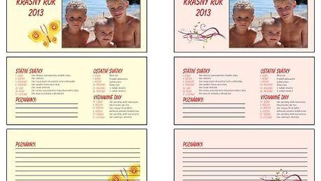Stolní čtrnáctidenní kalendář z vlastních fotografií! Vytvořte si originální vánoční dárek pro vaše blízké z fotografií. Čtrnácitdenní stolní kalendář máte stále na očích. Můžete si vybrat z různých druhů a podkladů. Sleva 44%!