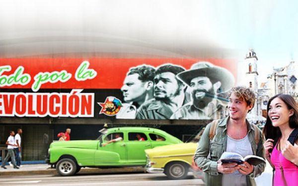 18ti denní ZÁJEZD NA KUBU na konci října nyní za zlomkovou cenu 30.750 Kč! Letenka, průvodci, ubytování v 3* a 4* hotelech s polopenzí a ALL INCLUSIVE! Temperament Havany, skvělý rum a voňavé cigarety. Moře, pláže a lahodné mojito...