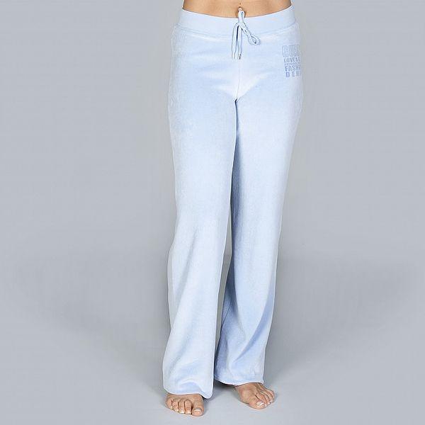 Dámské blankytně modré pyžamové kalhoty Guess by Marciano
