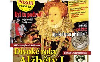 99 Kč za ročník časopisu OTAZNÍKY HISTORIE + 2 speciály! Odhalte tajemství historických událostí, nerozluštěných záhad a fantastických příběhů