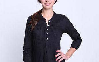 Elegantní dámská košile Camicia Miglio od značky Relish s 3/4 rukávem vyrobená z kvalitní bavlny