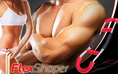Skvelá zľava na Flex Shaper - posilňovací prístroj, ktorý tvaruje postavu a znižuje váhu Vášho tela. Tohto pomocníka na posilňovanie a formovanie postavy získate len za 12,90 € vrátane poštovného!