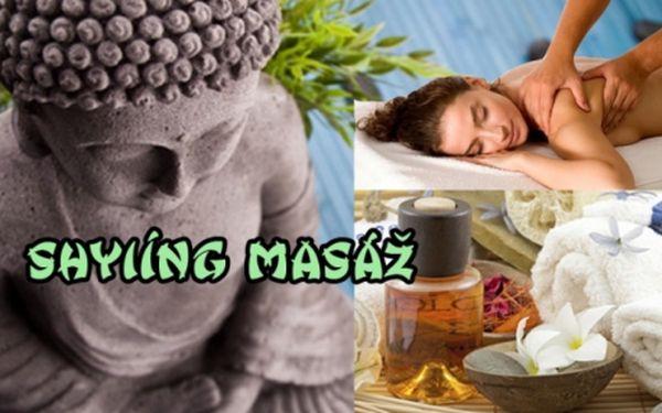 Exkluzivní až 60 min SHYIÍNG MASÁŽ (regeneračně-tantrická masáž) v Thai-Dzi centru! Vyzkoušejte 4800 př.n.l. staré tajemství této masáže!