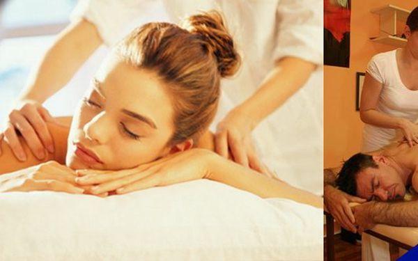 Ulevte svým bolavým zádům - dejte jim to, co potřebují - relaxační 45 minutová masáž včetně odblokovánív plzeňském salonu s 50% slevou
