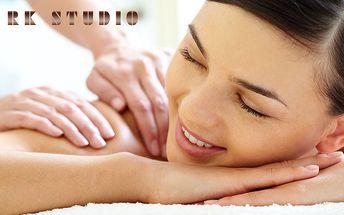 Hodinová masáž se zábalem a baňkováním