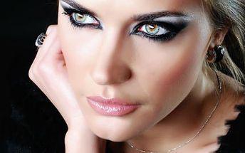 Proměna vizáže osobnosti! Úprava vlasů, poradentství v oblasti stylingu, líčení v 2,5 hodinách!