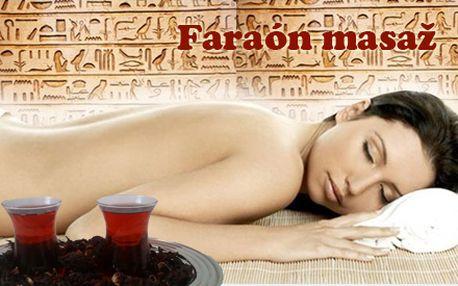"""Dnes máte možnosť po prvýkrát na Slovensku """"ochutnať"""" masáž FARAÓN. Znížte krvný tlak a osviežte telo i myseľ. Užite si 30 minút relaxačnej masáže pomarančovým olejom a ochutnajte pravý ibištekový čaj za uvádzaciu cenu len 8,50 € - teraz len v Žiline."""