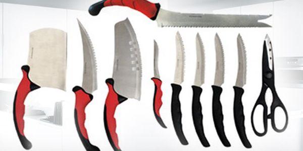 Sada 10 špičkových nožů Contour Pro Knives se 70% slevou včetně poštovného