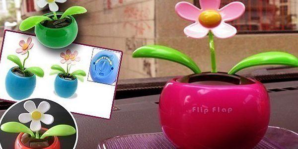 Sada tří květinek Flip Flap! Zvedněte si náladu solární tančící kytičkou Flip Flap.