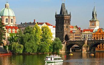 Užite si 5-hviezdičkový luxusný hotel v centre Prahy s 51% zľavou. 3 dni pre 2 osoby s raňajkami, plavbou po Vltave, plným minibarom, parkovaním a košíkom ovocia len za 189 €.