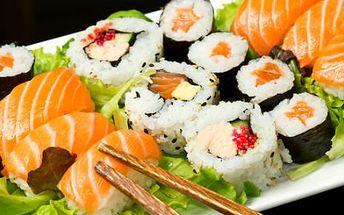 Delikátní sushi set 32 ks! Ochutnejte skvělé sushi v nádherném prostředí Bangkok Restaurant!