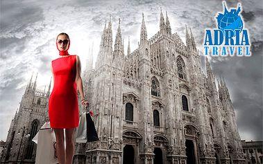 Len 59 € za predvianočný výlet do centra talianskej, ale aj svetovej módy a dizajnu! Čaká vás Piazza del Duomo, opera La Scala a neuveriteľné množstvo značkových obchodov!