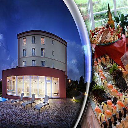 Wellness pobyt pro 2 osoby na 2 dny s polopenzí ve Františkových Lázních v jednom z luxusních hotel