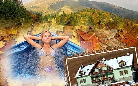 Jesenný oddych pre dvoch na 3 dni vo Veľkej Fatre