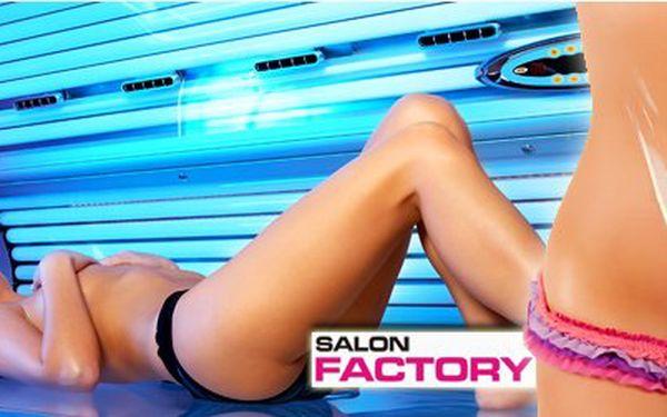 Permanentka do solária v salonu Factory v brně za úžasných 199 Kč! Krásné opálení s 69% slevou!