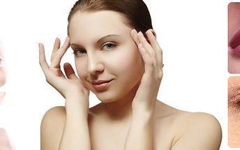 Odborné ošetření pleti spolu s relaxační masáží šíje!