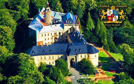 3-dňový luxusný pobyt pre 2 osoby na stredovekom zámku Zbiroh! Wellness, kráľovské raňajky, welcome drink, stredoveká večera a zľava na masáž!