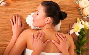 Výběr ze 4 druhů masáží! Klasická, relaxační, zad a šíje či reflexní chodidel, antistresová!
