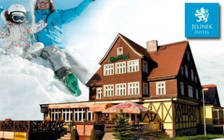 Pobyt ve Špindlu! 3 dny PRO DVA! Husí hody, snídaně, slevy na wellness!
