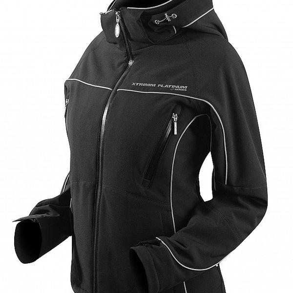 Dámská černá softshellová bunda Trimm