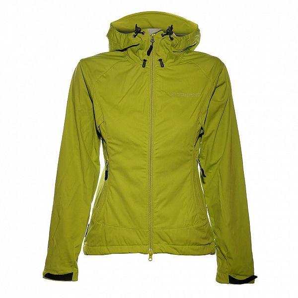 Dámská světle zelená softshellová bunda Trimm