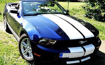 Jízda ve Ford Mustang Convertible! Buďte jako filmový hrdina a projeďte se ve Ford Mustang!