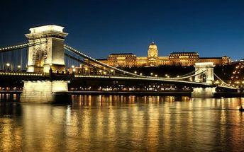 3 dny v krásné Budapešti! 3 dny PRO DVA v Alfa Art Hotel se snídaní, welcome drinkem a saunou!