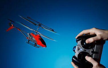 Helikoptéra s dálkovým ovládáním! Ohromte svého malého nezbedníka jedinečným dárkem!