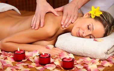 Exotická či relaxační masáž. Navíc získáte jako bonus Joya nebo Candella masáž svíčkou!