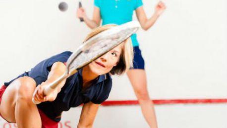 5 hodin squashe! Permanentka s 5 hodinami squashe jako parádní vánoční dárek pro sportovce!