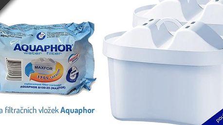 Sada filtračních vložek Aquaphor Maxfor 5 ks - hodí se ke všem konvicím Brita, Anna, Laica a ke konvicím Aquaphor Agat čí Ideál
