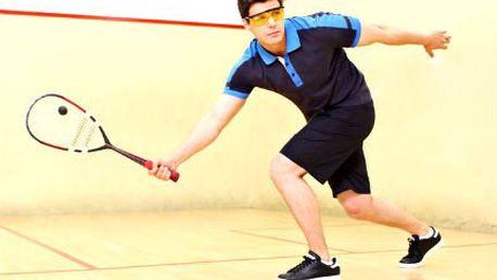 5 hodin squashe pro 2 osoby! Permanentka s 5 hodinami squashe jako parádní vánoční dárek pro sportovce!