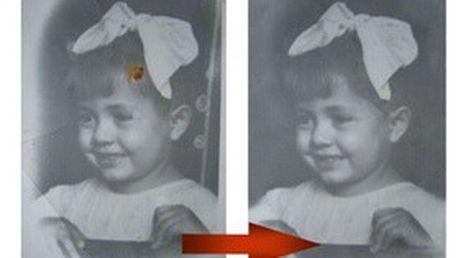 DIGITÁLNÍ RESTAUROVÁNÍ 2 ks starých fotografií! Obnovíme poškozené záběry vašich neopakovatelných okamžiků