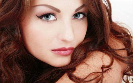 Permanentní make-up! Horní či dolní linky nebo obočí a kontura rtů!
