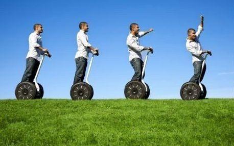 60minutová jízda na Segway! Dopřejte si originální aktivní odpočinek a adrenalin za báječnou cenu!