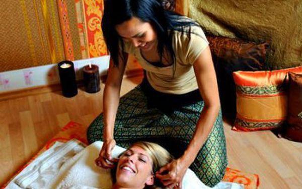 60minutová thajská masáž! Masírují rodilé Thajky. Na výběr tradiční, olejová, nebo masáž zad a šíje.