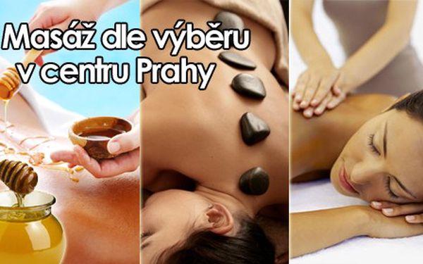 Medová masáž, masáž lávovými kameny či klasická v délce 60 minut jen za 269 Kč v centru Prahy! Chladné dny jsou tady, dopřejte si hřejivé a léčivé účinky medové masáže či masáže lávovými kameny, zbavte se stresu, kterým prochází již každý z nás nebo využijte klasické masáže k příjemnému odreagování