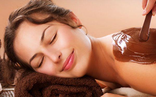 Sladká čokoládová masáž a čokoládový zábal za 199 Kč.