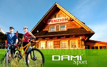 Len 79 € za 3-dňový pobyt s raňajkami pre dve osoby, v luxusných mezonetových apartmánoch penziónu DAMI sport v centre Donovál, len za 79 €! Ideálne pre rodiny s deťmi...