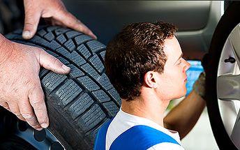 Přezutí letních pneumatik za zimní