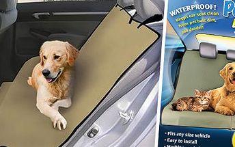 Nepremokavá deka do auta pre psa